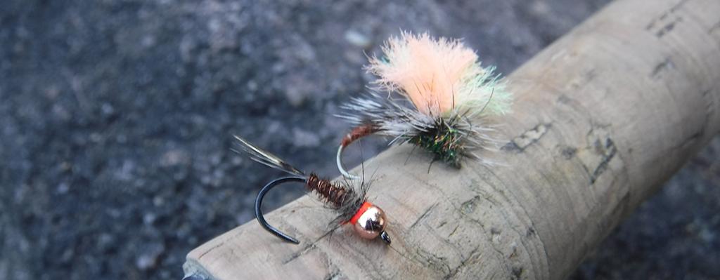 Duo fishing for Grayling
