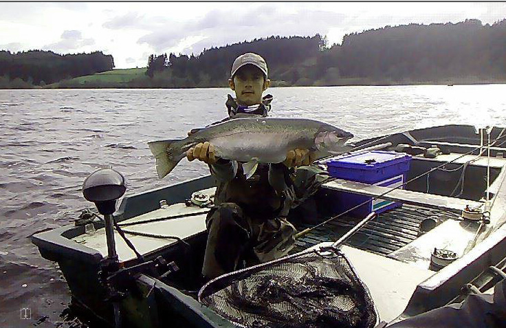 rainbow trout in france