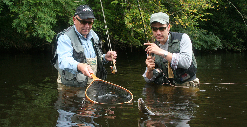 dry fly fishing for grayling