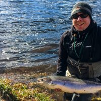 Salmon Fishing in Late Spring