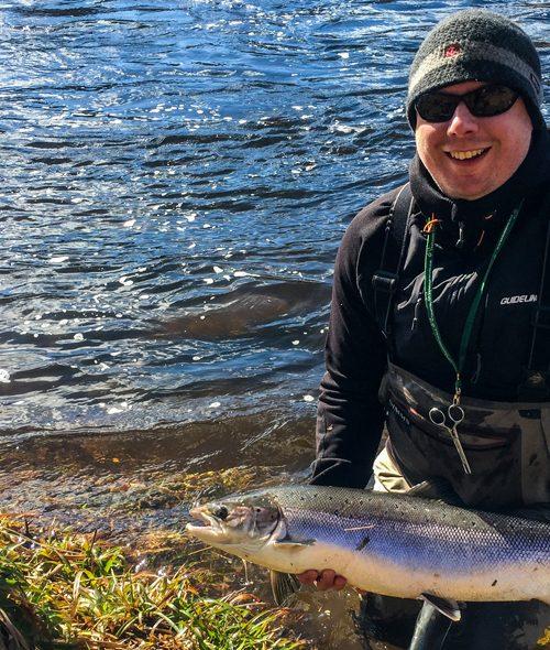 Salmon Fishing in Late Spring