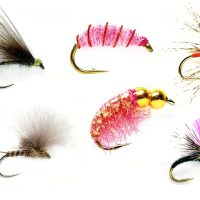 Grayling-Flies-Top-6|Grayling-Flies-F-Fly|Grayling-Flies-Klinkhammer|Grayling-Flies-Olive|Grayling-Flies-Pink-Bomb|Grayling-Flies-Pink-Shrimp|Grayling-Flies-Spider|