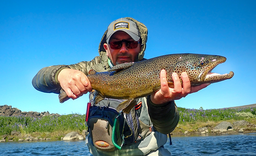 Fly Fishing In Iceland