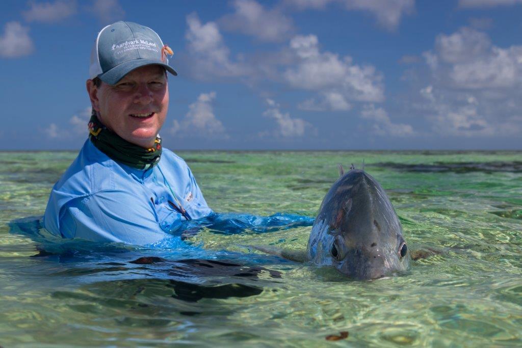 Fly Fishing Providence Seychelles