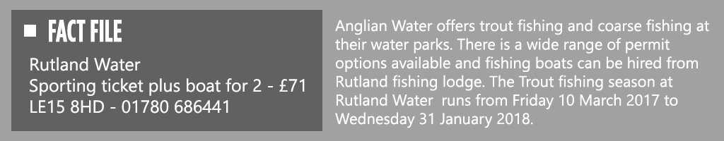 Rutland Water Fact File