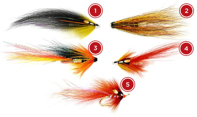 Springer Salmon Flies