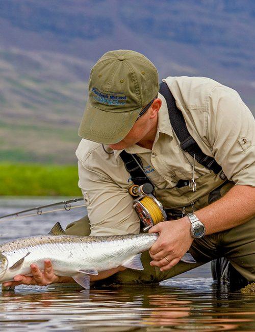 Surface fishing for atlantic salmon