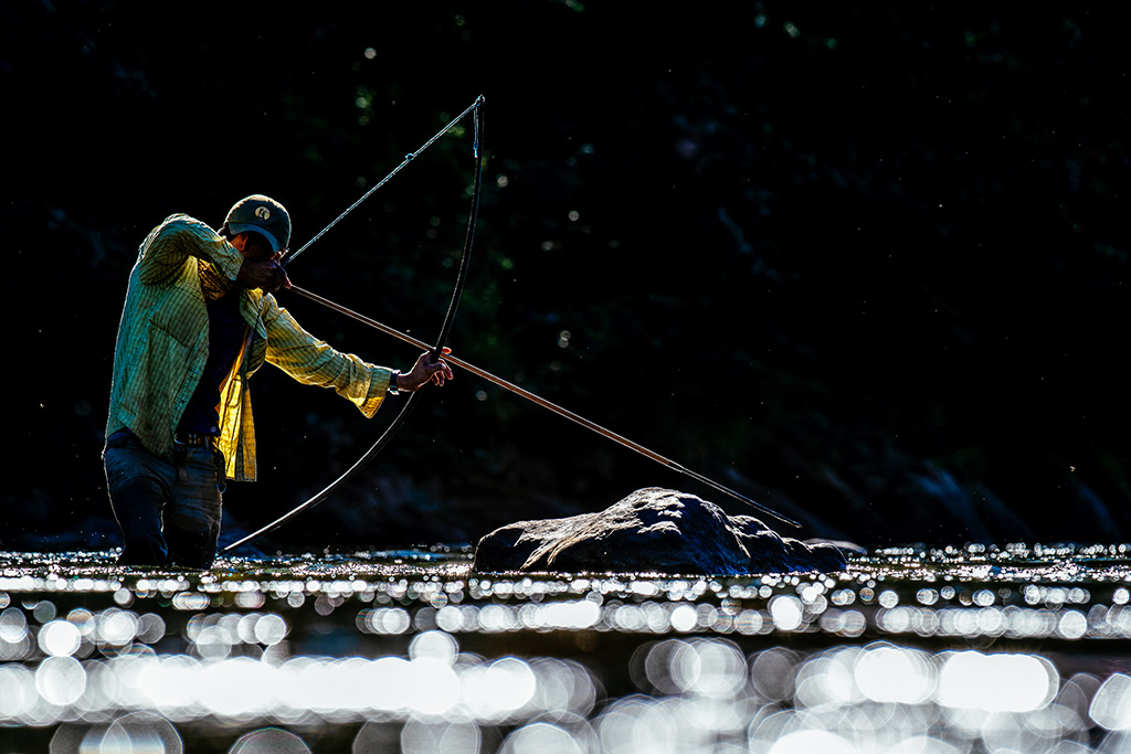 Tsimane Hunting Fuji Velvia