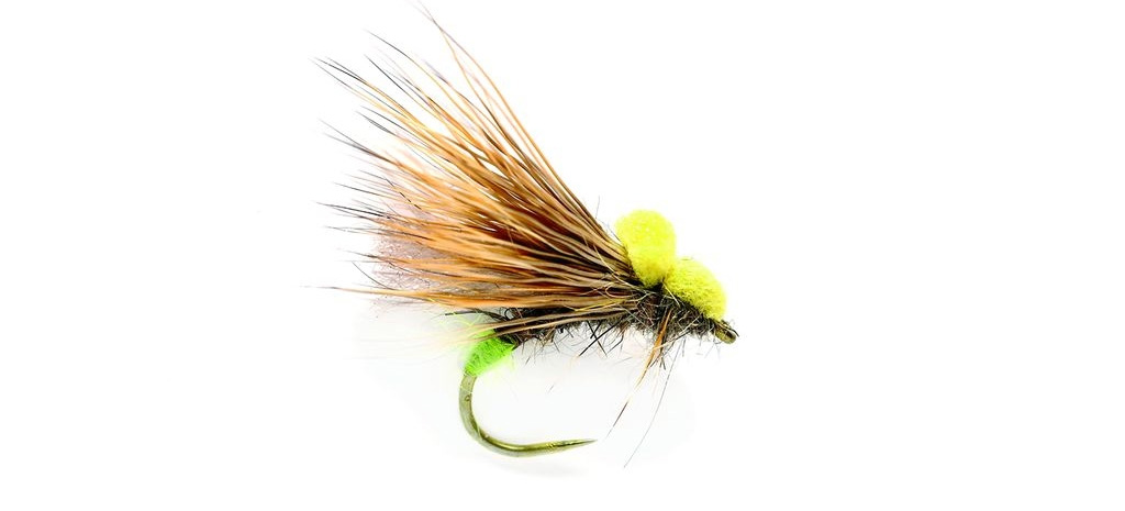 dry fly fishing for grayling caddis