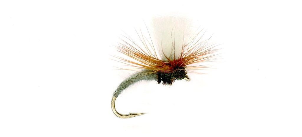 dry fly fishing for grayling klinkhammer