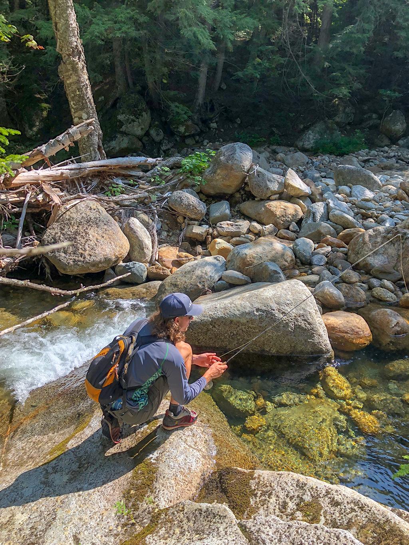 fishing in the Adirondacks