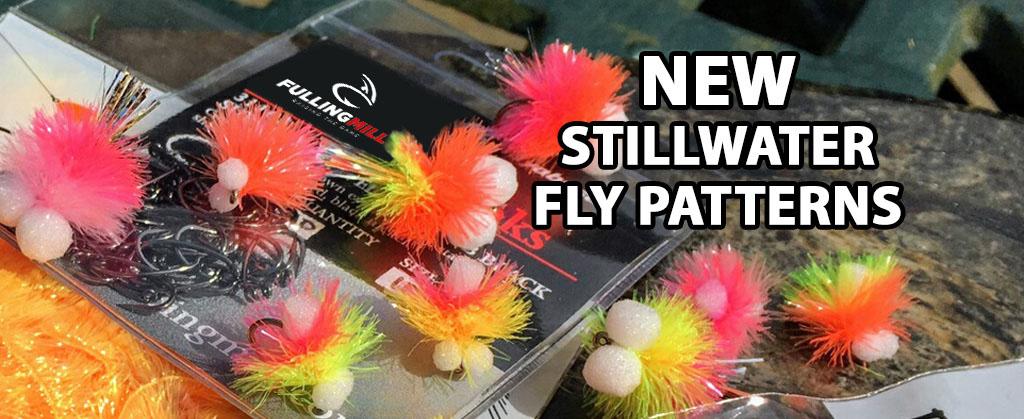 New stillwater fly patterns