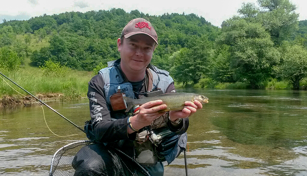 wet fly fishing on rivers