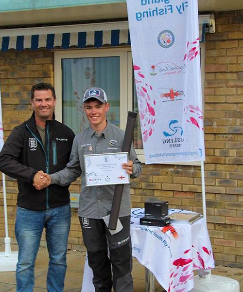 Harrison Douds wins england youth qualifer