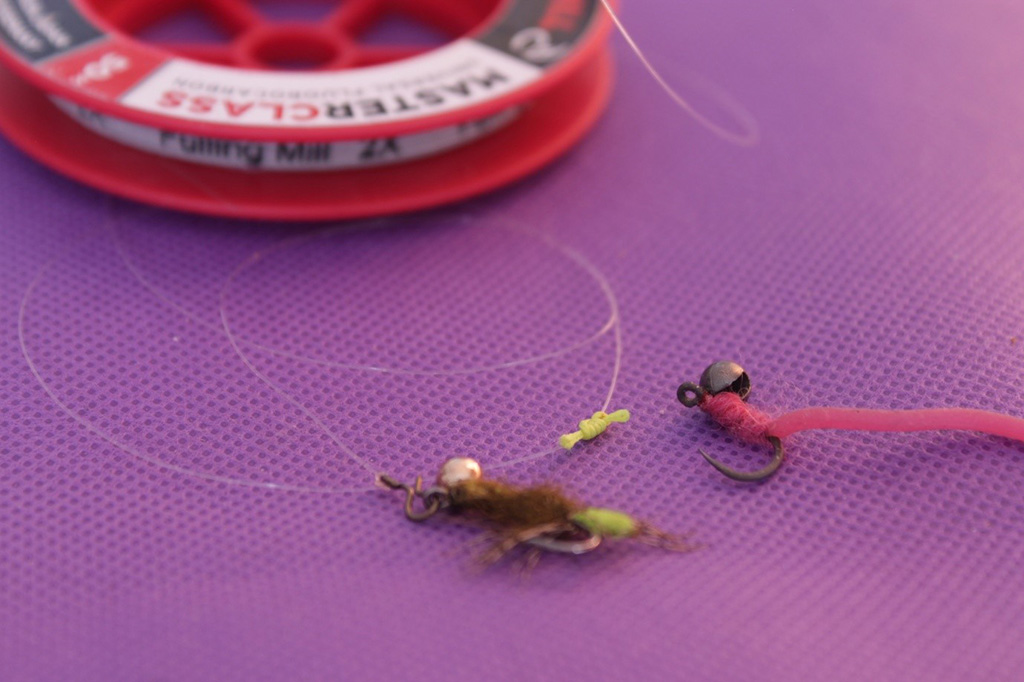 Barbel on the Fly Set up