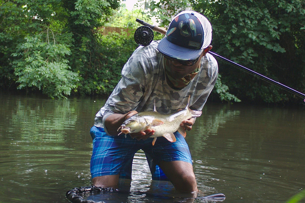 Tim James Fly Fishing for Barbel